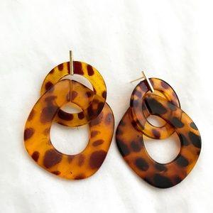 Animal Print Earring